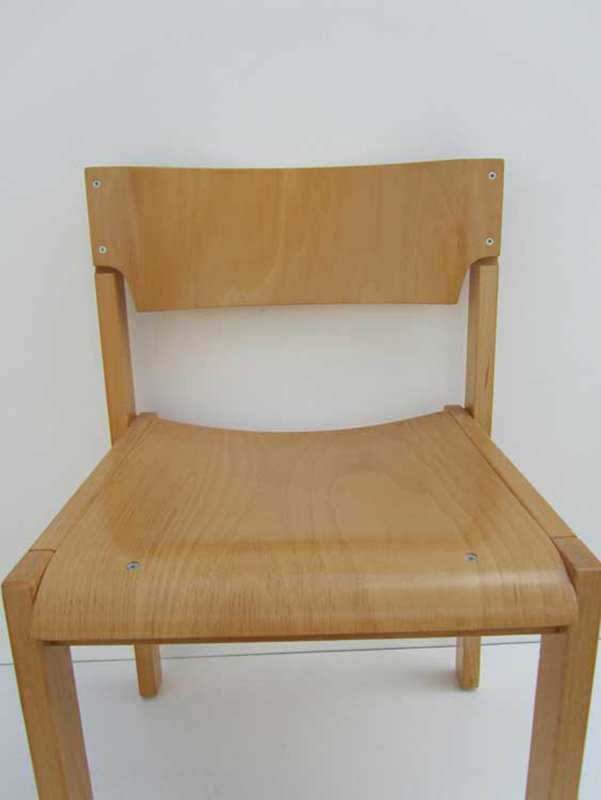 minimalistische skandinavische st hle 1970er 6er set bei. Black Bedroom Furniture Sets. Home Design Ideas