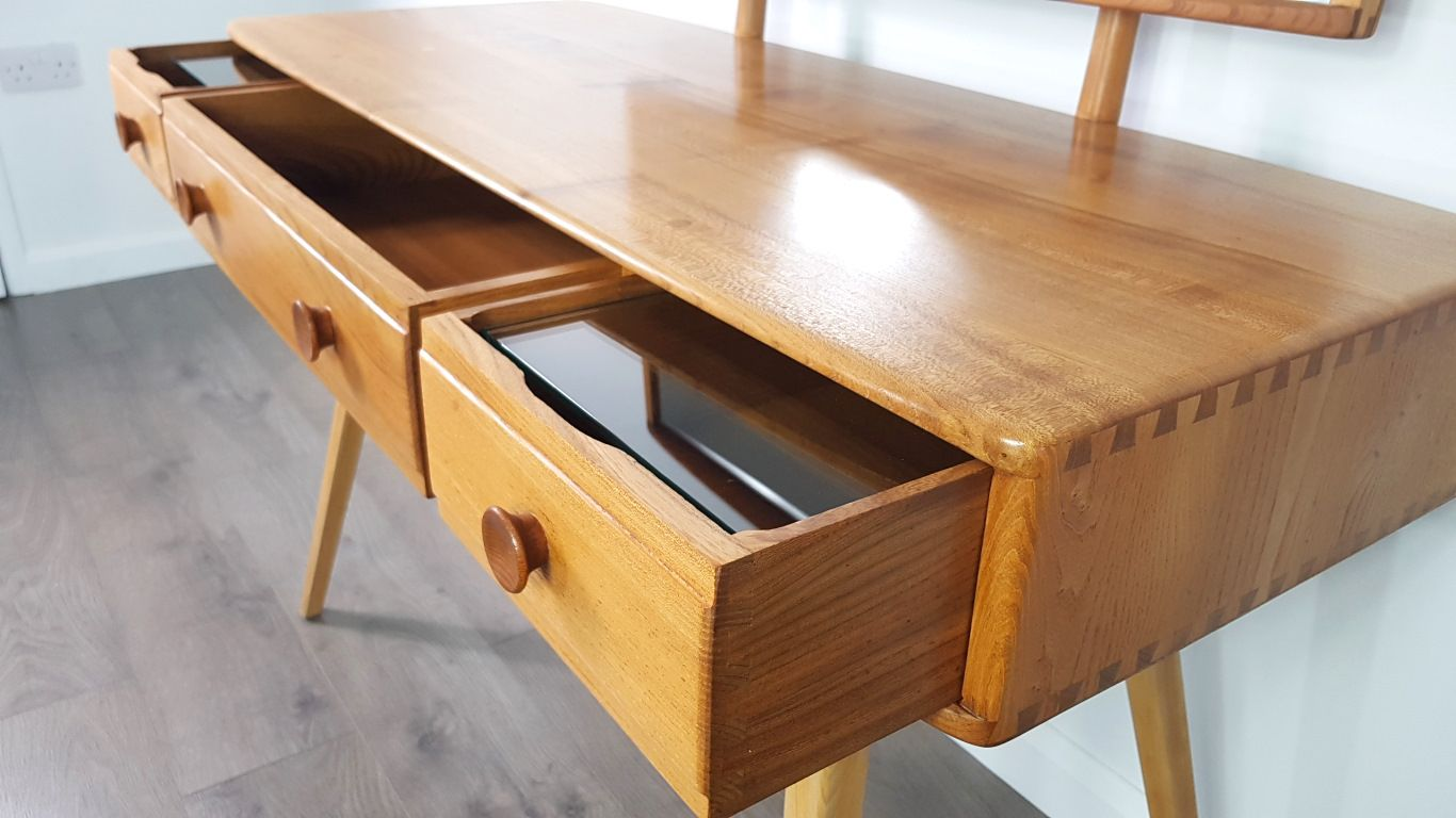 Mid Century Dressing Table By Lucian Ercolani For Ercol