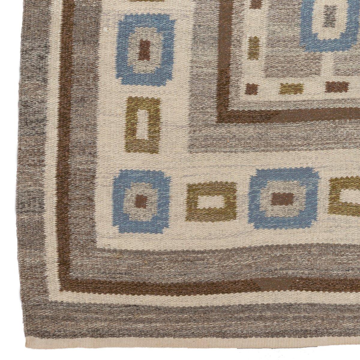 skandinavischer teppich 1960er bei pamono kaufen. Black Bedroom Furniture Sets. Home Design Ideas