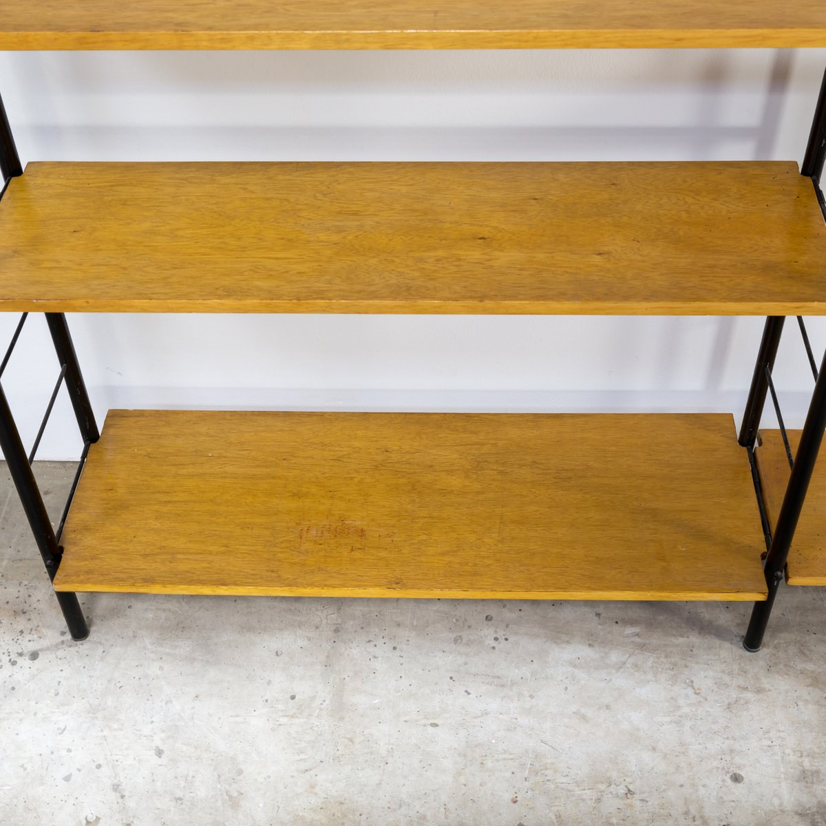 wall unit by nisse strinning for string 1960s for sale at pamono. Black Bedroom Furniture Sets. Home Design Ideas