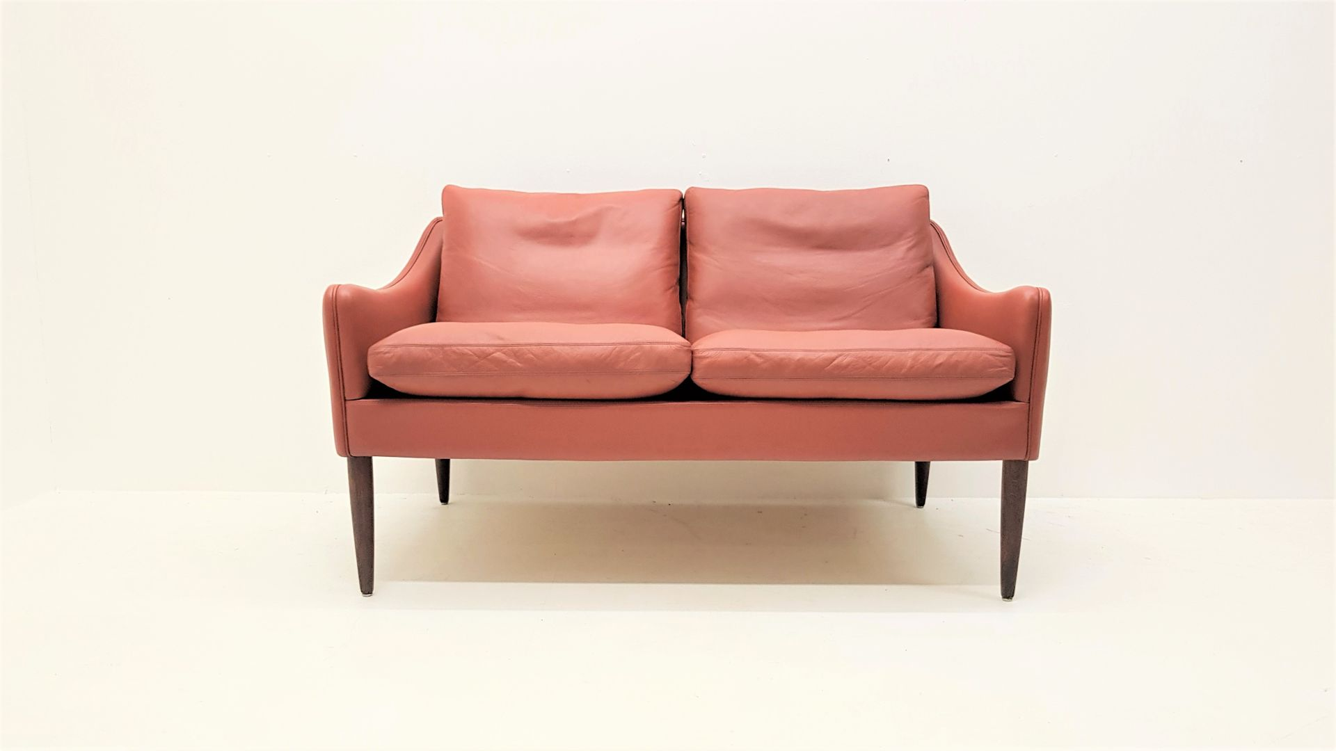 Model 800 2 Two Seater Sofa by Hans Olsen for CS Mobelfabrik