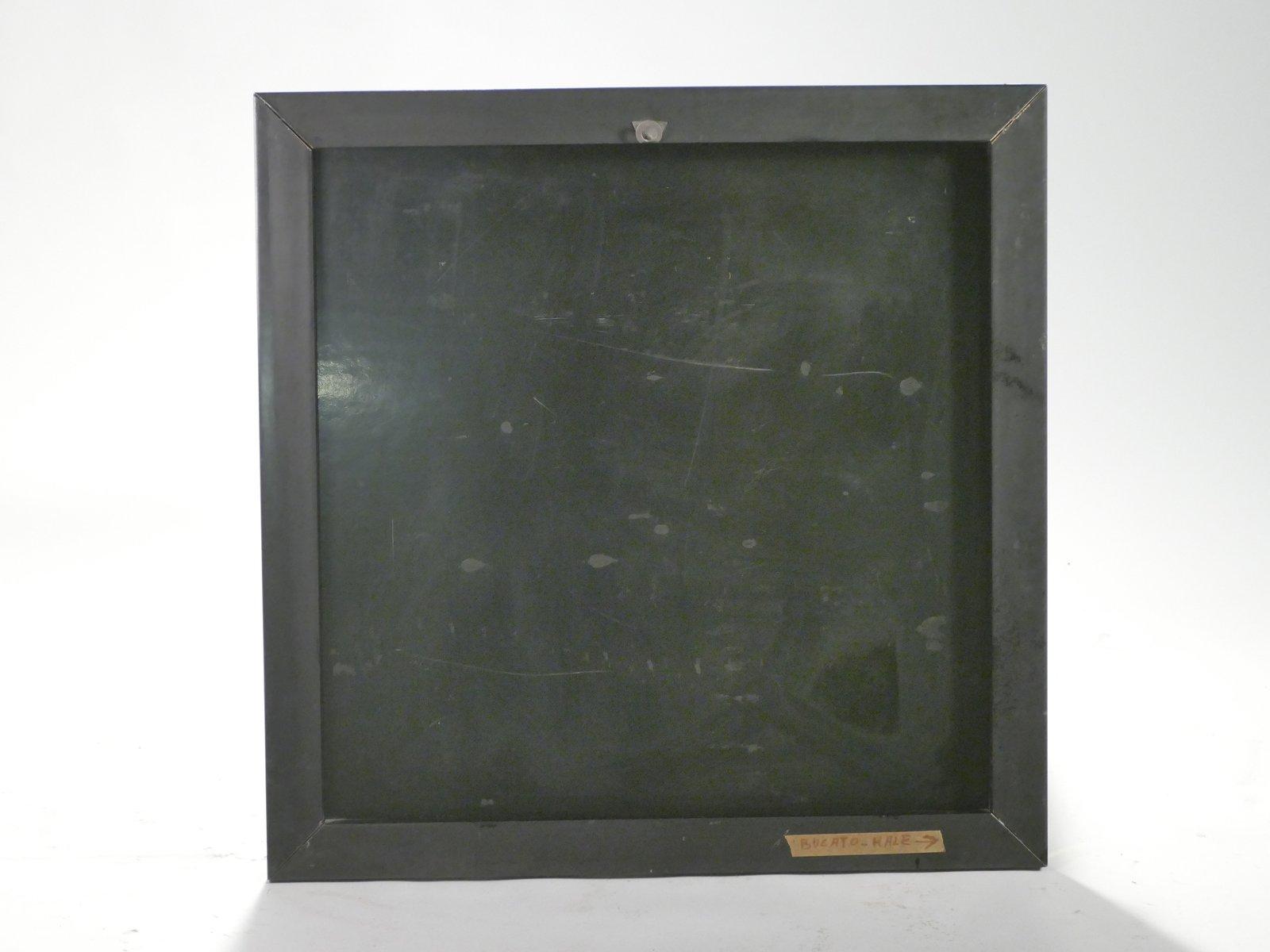 spiegel mit rahmen aus lackiertem messing 1975 bei pamono. Black Bedroom Furniture Sets. Home Design Ideas