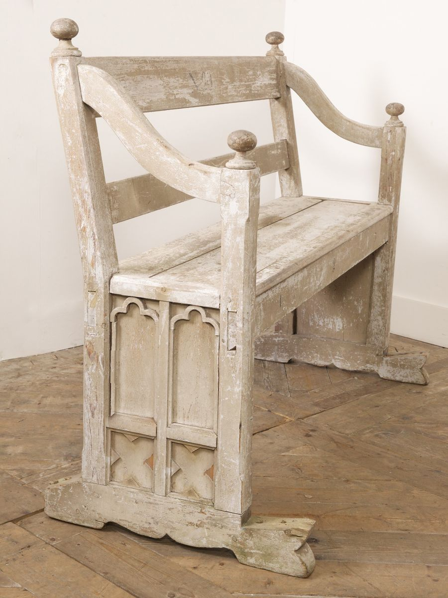 Antique Gothic Bench, 1840s For Sale At Pamono - Antique Gothic Furniture  For Sale Antique - Antique Gothic Furniture For Sale Antique Furniture