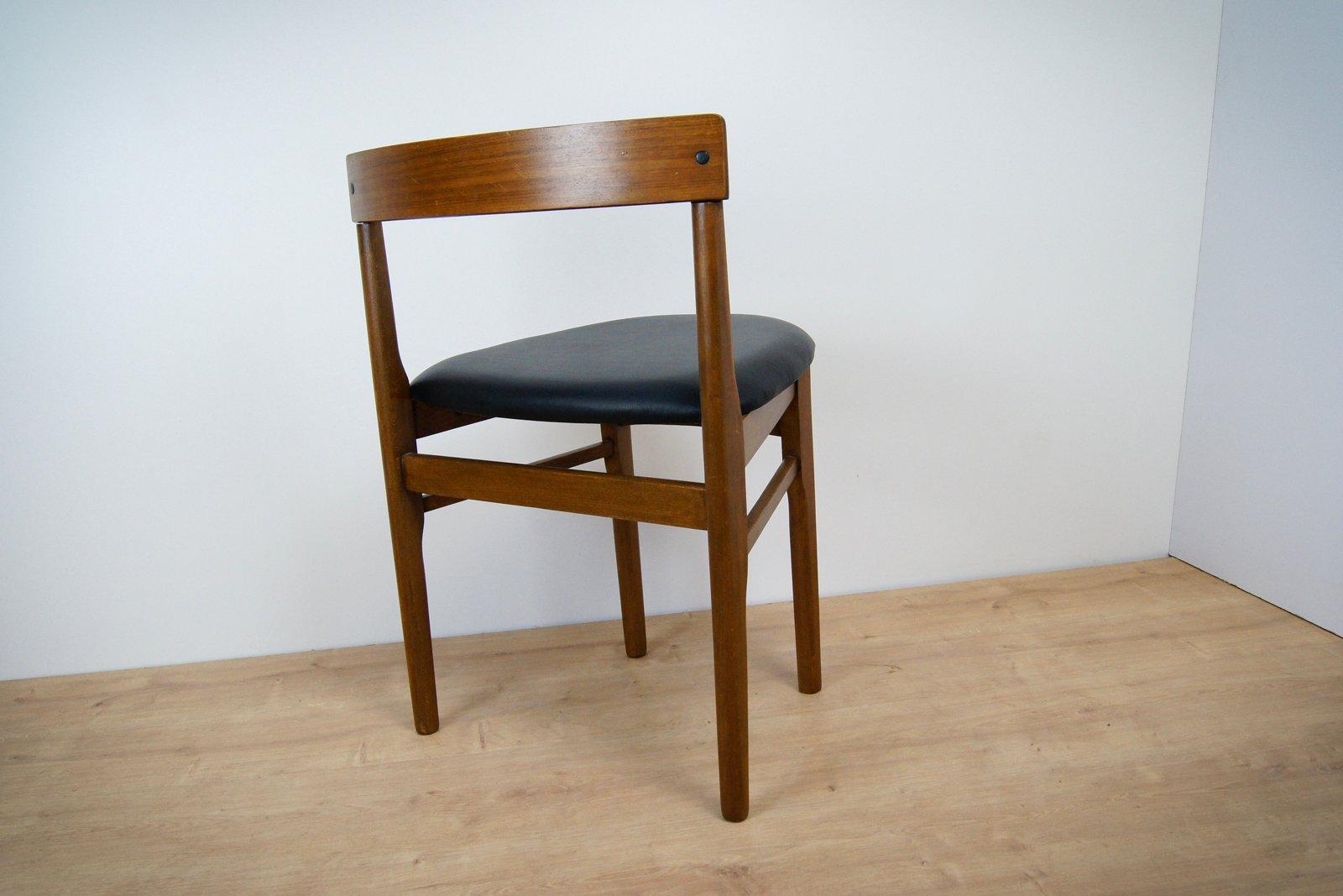 esszimmer st hle aus teak von mcintosh 1960er 2er set bei pamono kaufen. Black Bedroom Furniture Sets. Home Design Ideas