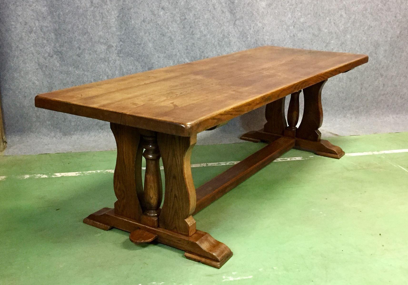 Eiche tisch aus klosteranlage 1930er bei pamono kaufen for Eiche tisch