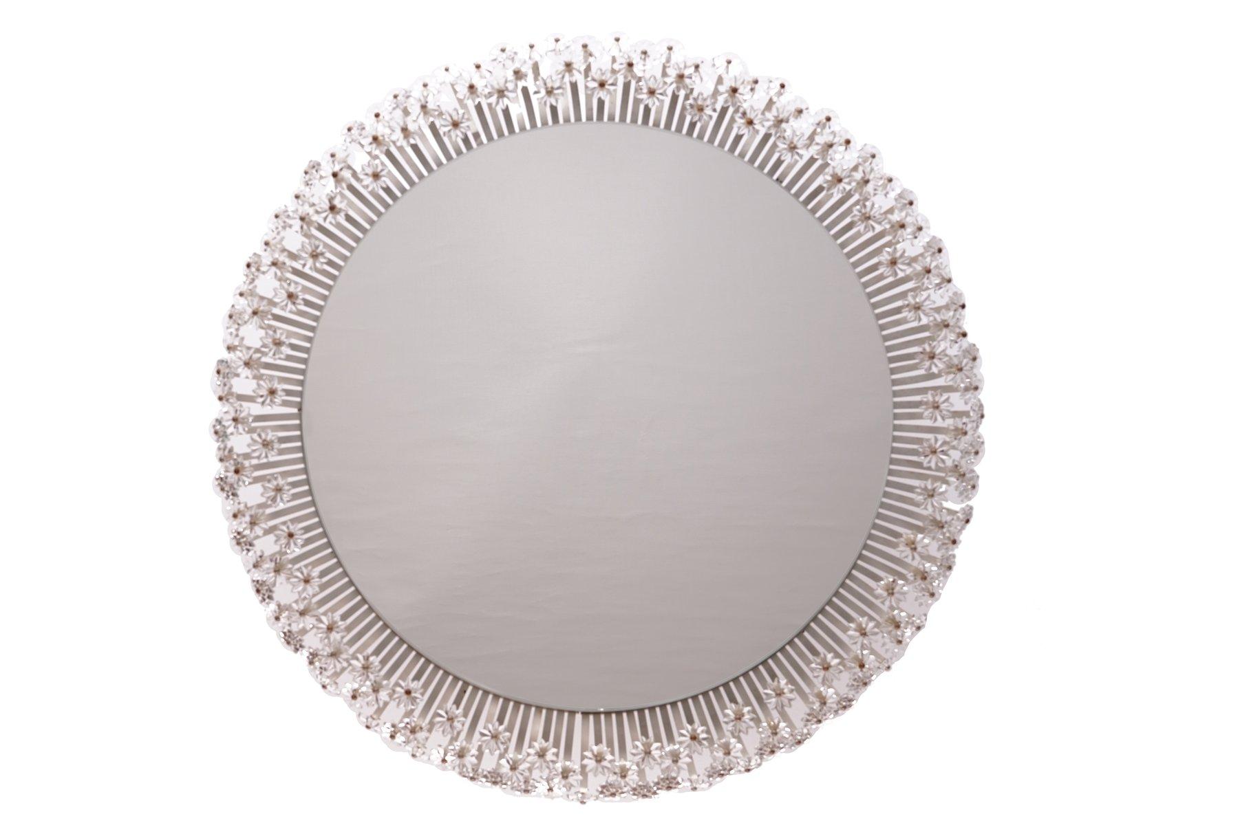 gro er runder beleuchteter spiegel von emil stejnar f r rupert nikoll 1950er bei pamono kaufen. Black Bedroom Furniture Sets. Home Design Ideas