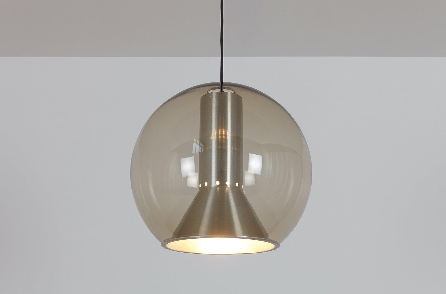 gro e vintage kugel h ngelampe von frank ligtelijn f r raak bei pamono kaufen. Black Bedroom Furniture Sets. Home Design Ideas