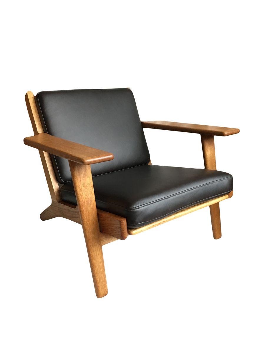 modell ge290 sessel von hans j wegner f r getama 1950er. Black Bedroom Furniture Sets. Home Design Ideas