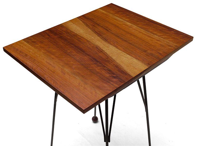 Czechoslovakian Walnut Veneered Tv Table With Swivel Top 1950s 9 480 00 Regular 520