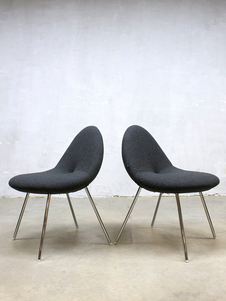 Little conco dining chairs by michiel van der kley for for Dutch design chair uk