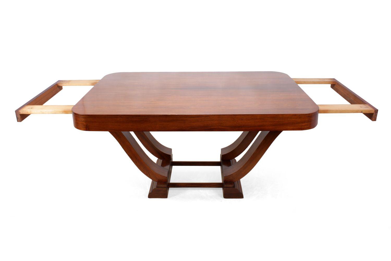 franz sischer art deco palisander esstisch 1920er bei pamono kaufen. Black Bedroom Furniture Sets. Home Design Ideas