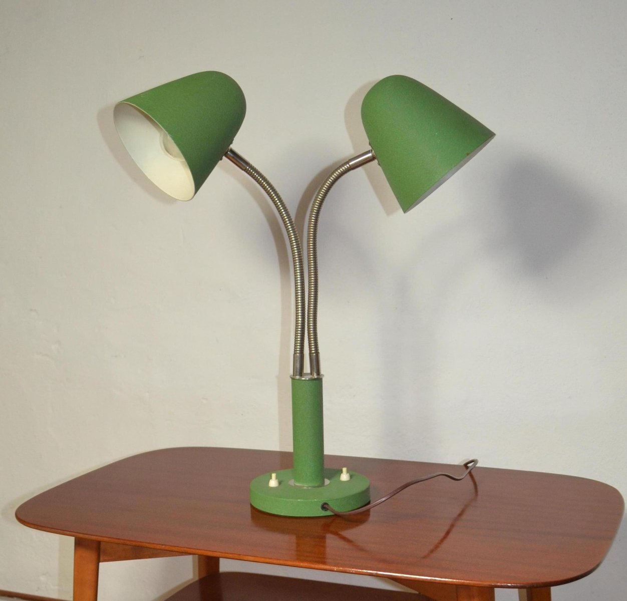 Vintage 2 arm adjustable table lamp for sale at pamono aloadofball Image collections