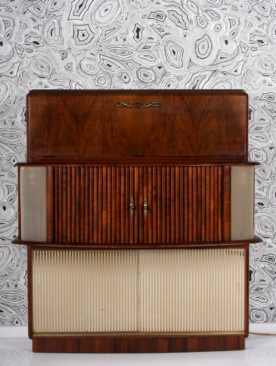 Art Deco Cocktail Cabinet From Rivington, 1950s