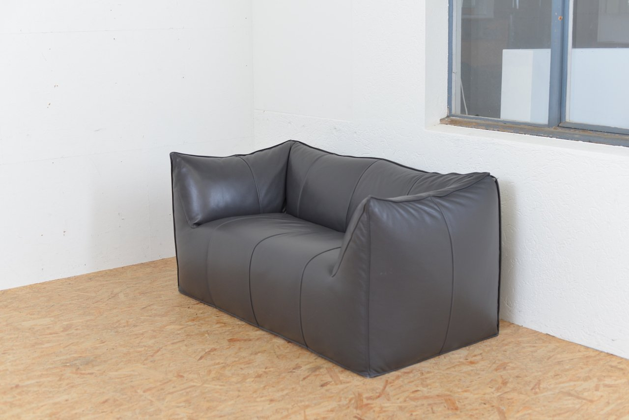 le bambole ledersofa von mario bellini f r b b italia 1972 bei pamono kaufen. Black Bedroom Furniture Sets. Home Design Ideas