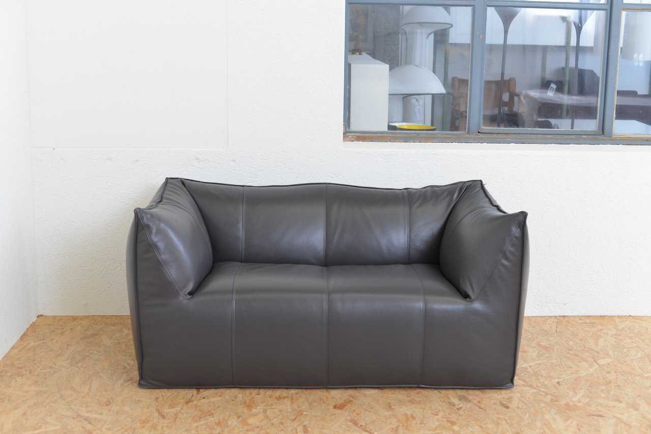 le bambole ledersofa von mario bellini f r b b italia 1972 bei pamono kaufen. Black Bedroom Furniture Sets. Home Design Ideas
