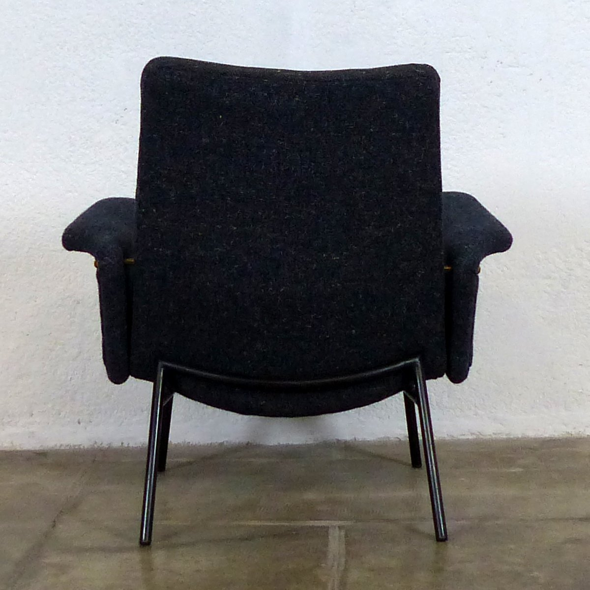 mid century french sk660 armchair by pierre guariche for. Black Bedroom Furniture Sets. Home Design Ideas
