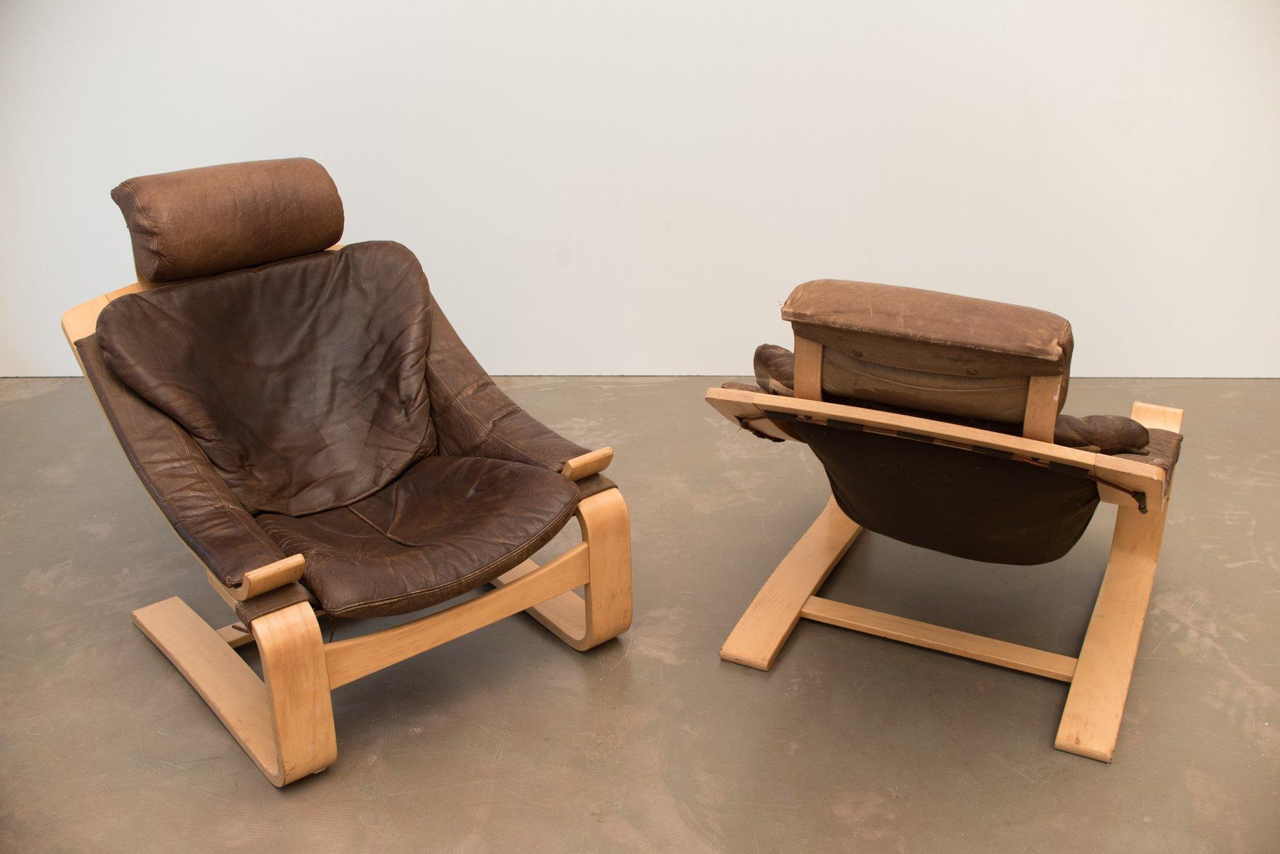 5b8e54346 Kroken de Luxe Lounge Chair by Åke Fribytter for Nelo Möbel