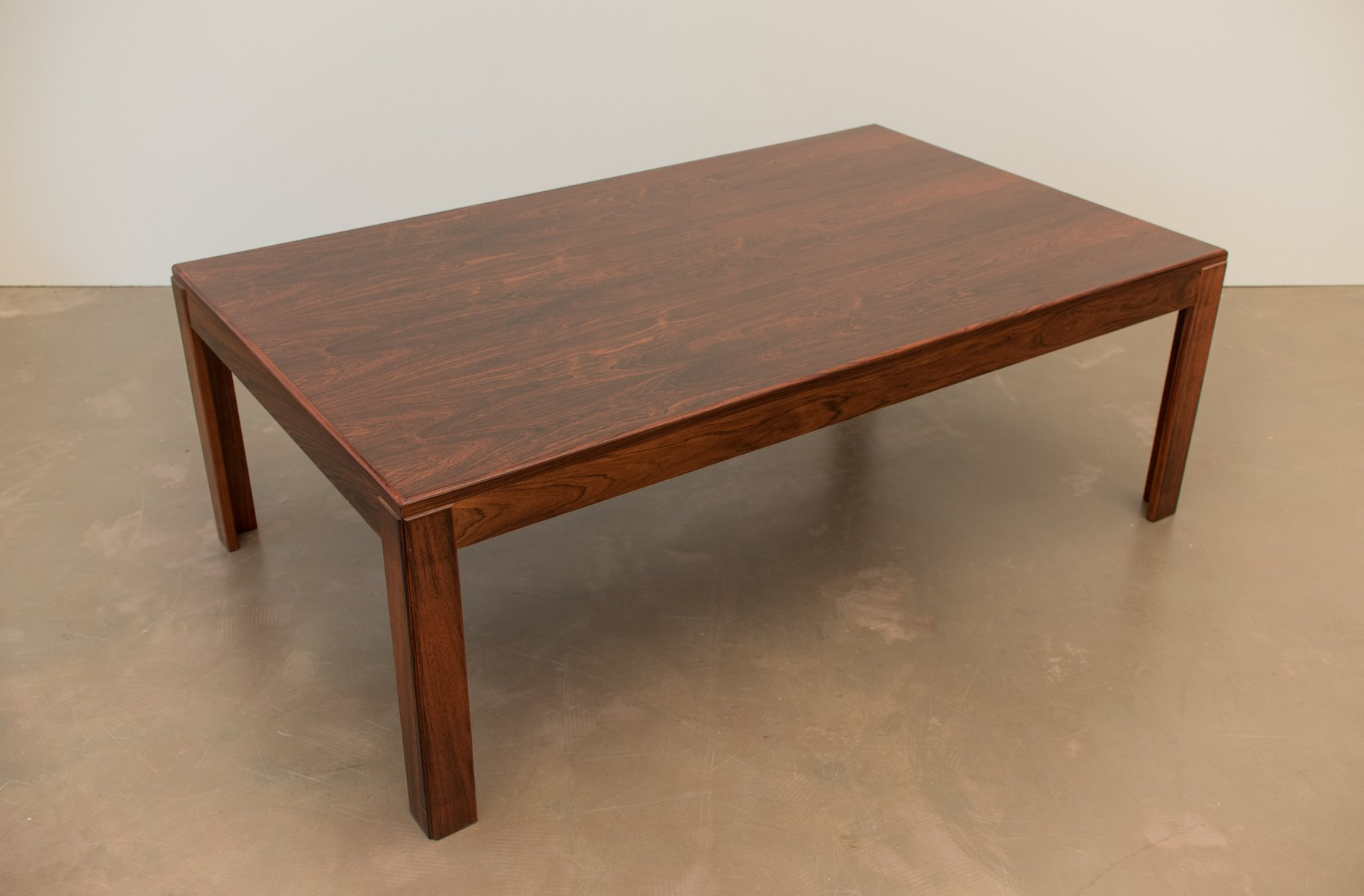 Mid Century Danish Rosewood Coffee Table 1960s