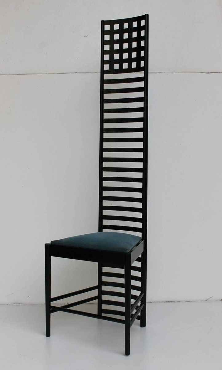 charles rennie mackintosh stuhl charles rennie mackintosh. Black Bedroom Furniture Sets. Home Design Ideas