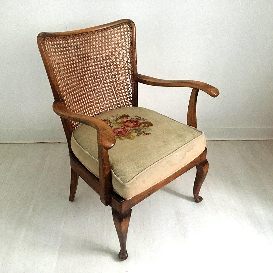 antiker chippendale sessel bei pamono kaufen. Black Bedroom Furniture Sets. Home Design Ideas
