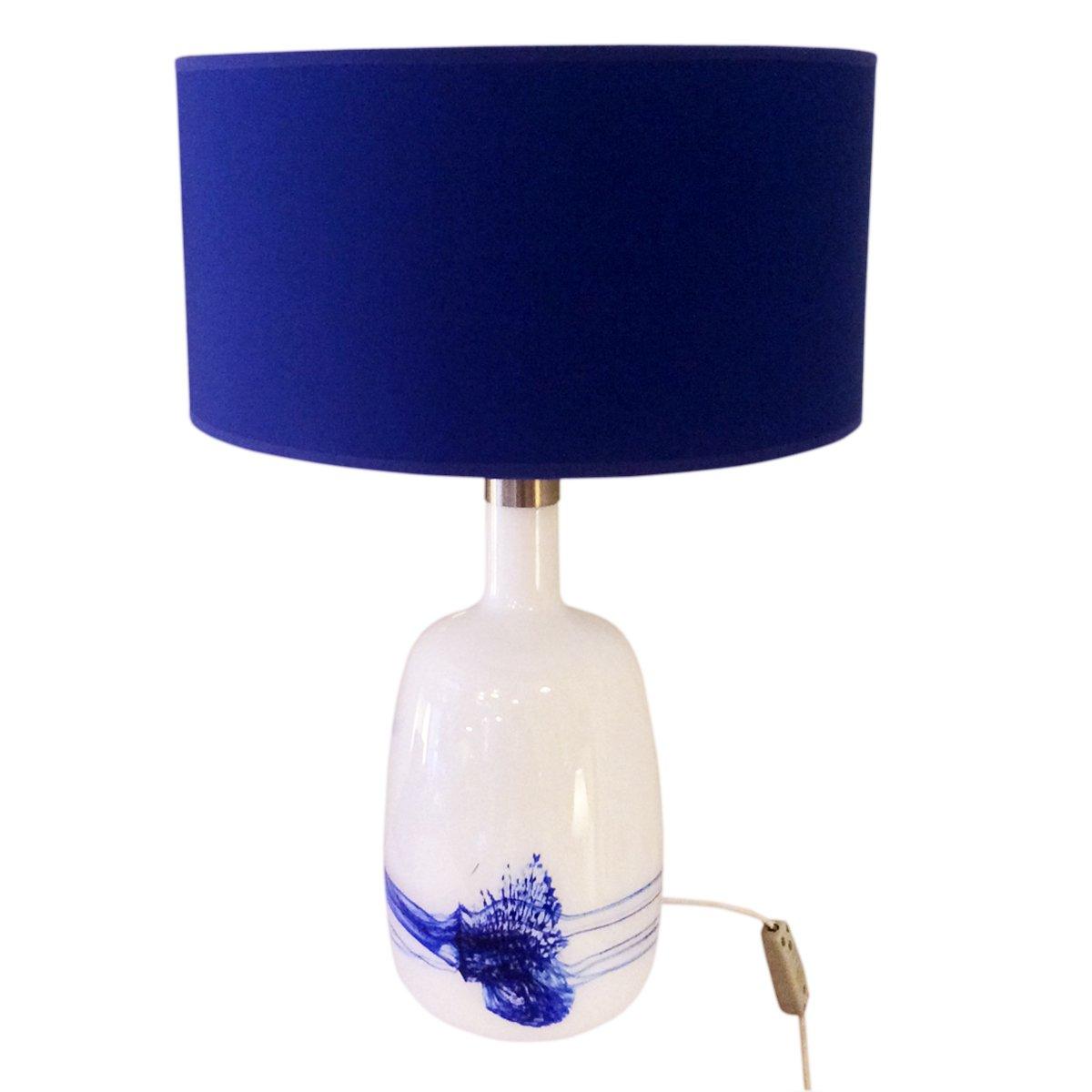 d nische tischlampe aus glas von le klint 1950er bei pamono kaufen. Black Bedroom Furniture Sets. Home Design Ideas