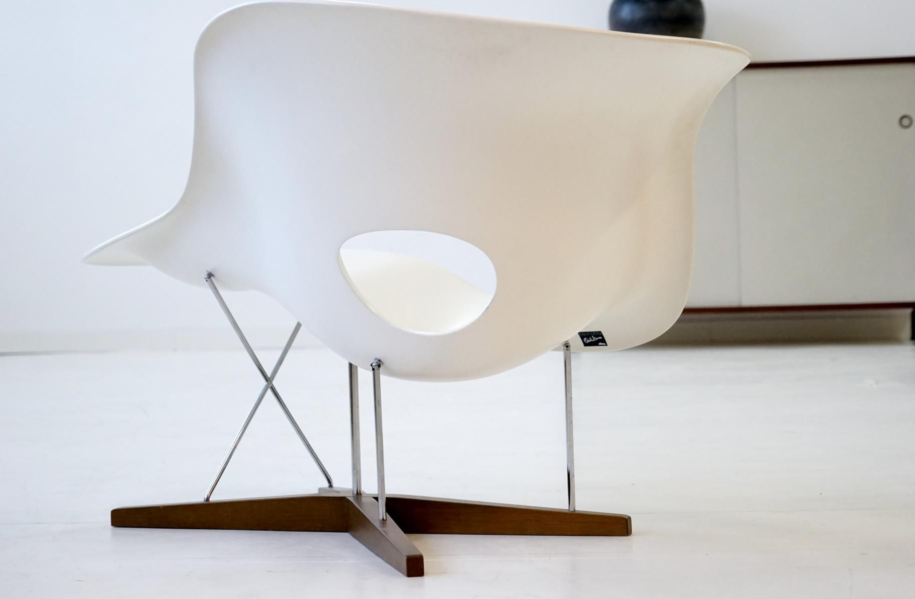 Vintage la chaise by eames for vitra for sale at pamono for Chaise design eames
