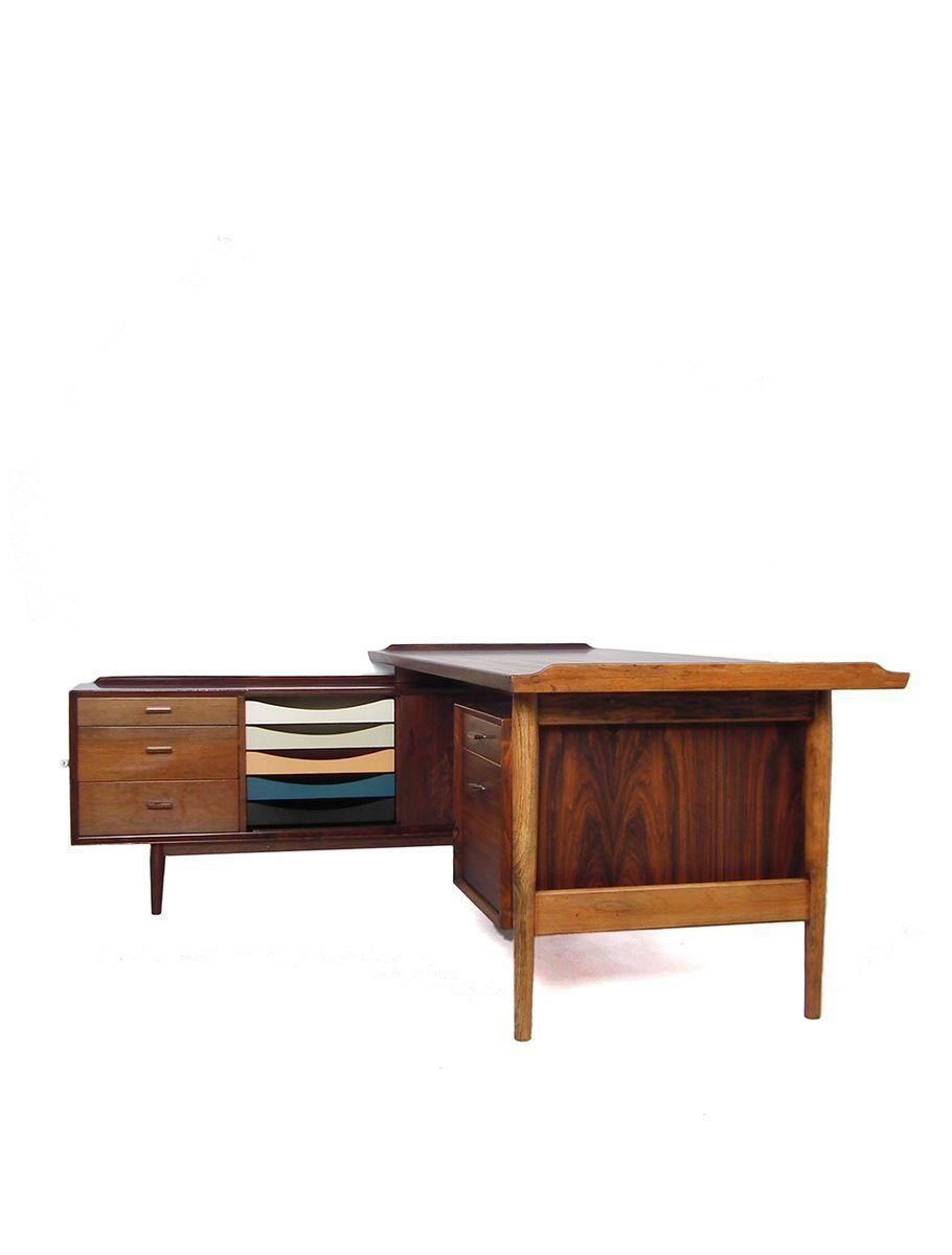 schreibtisch von arne vodder f r sibast 1950er bei pamono kaufen. Black Bedroom Furniture Sets. Home Design Ideas