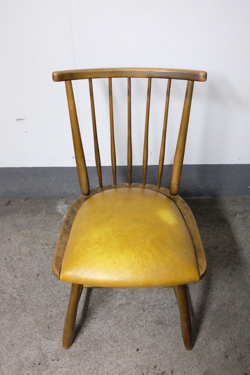stuhl von arno lambrecht f r wk m bel 1950er bei pamono. Black Bedroom Furniture Sets. Home Design Ideas