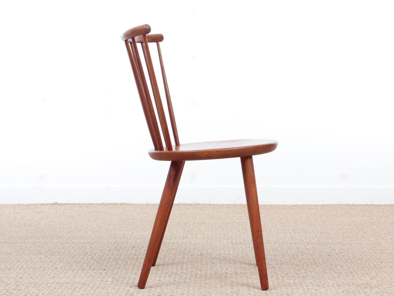 skandinavische vintage st hle aus teak 2er set bei pamono. Black Bedroom Furniture Sets. Home Design Ideas