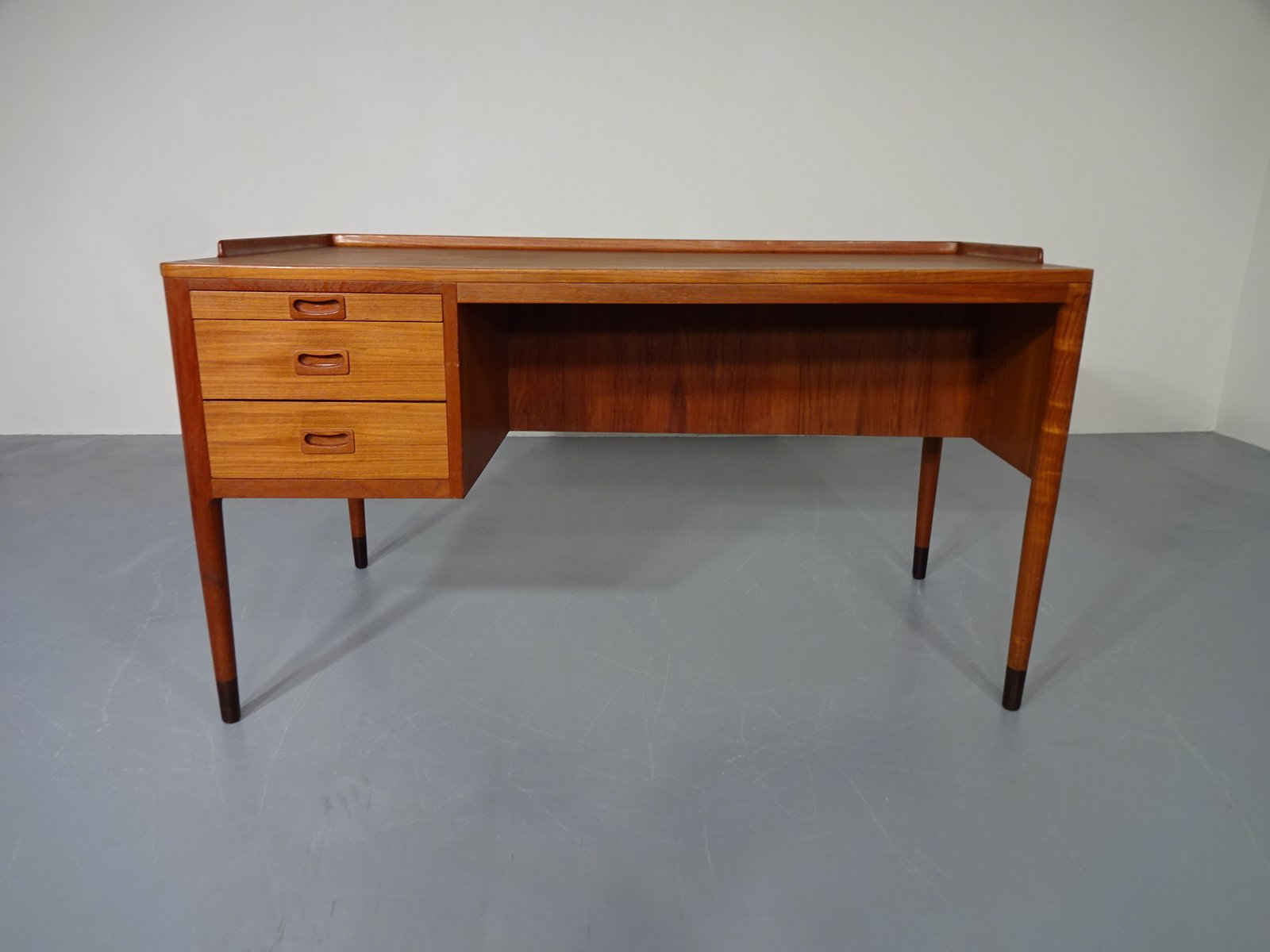 vodder danishdesk drop leaf danish arne desk by