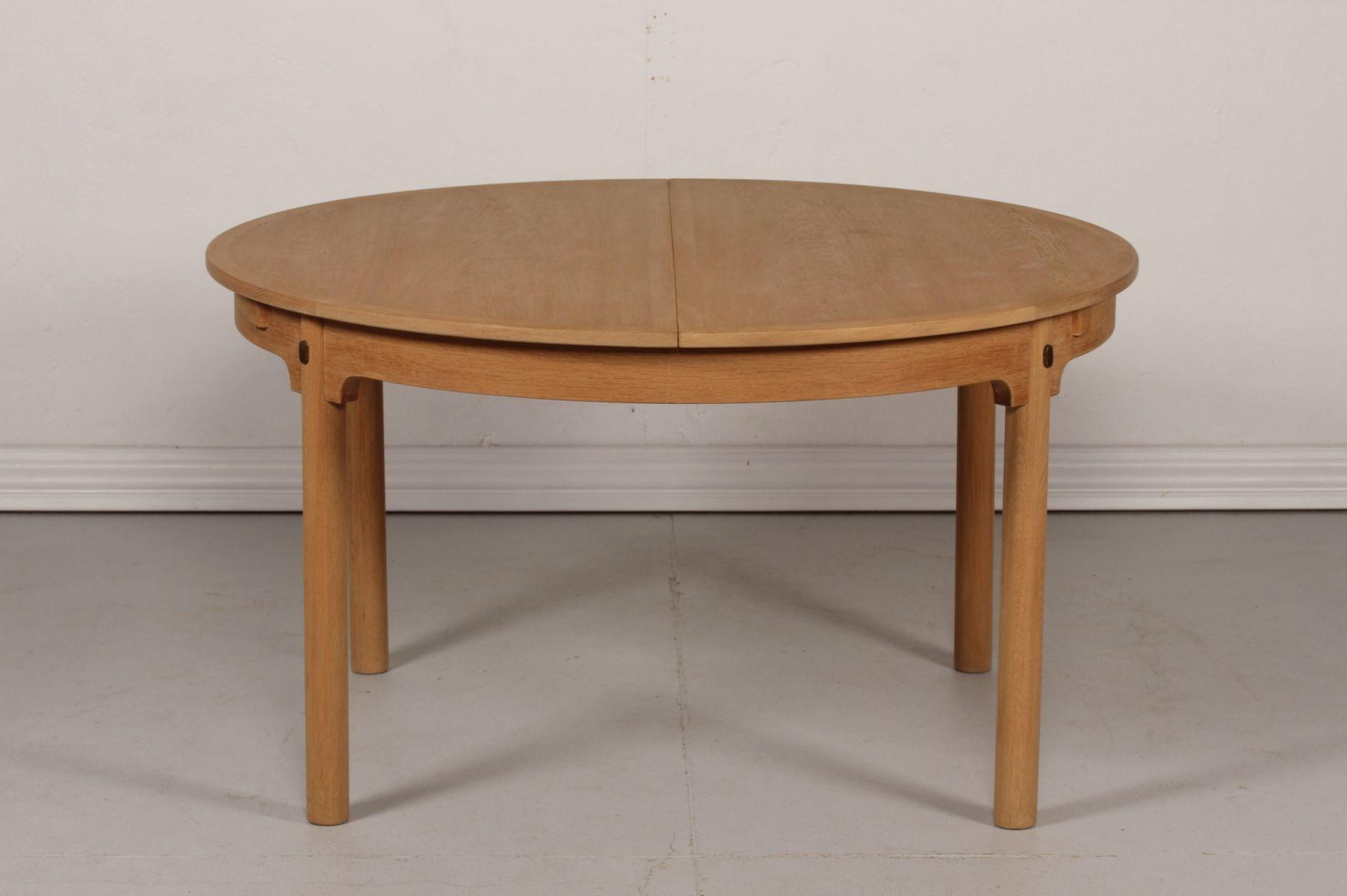 Model ˜resund 141 Oak Dining Table by B¸rge Mogensen for Karl