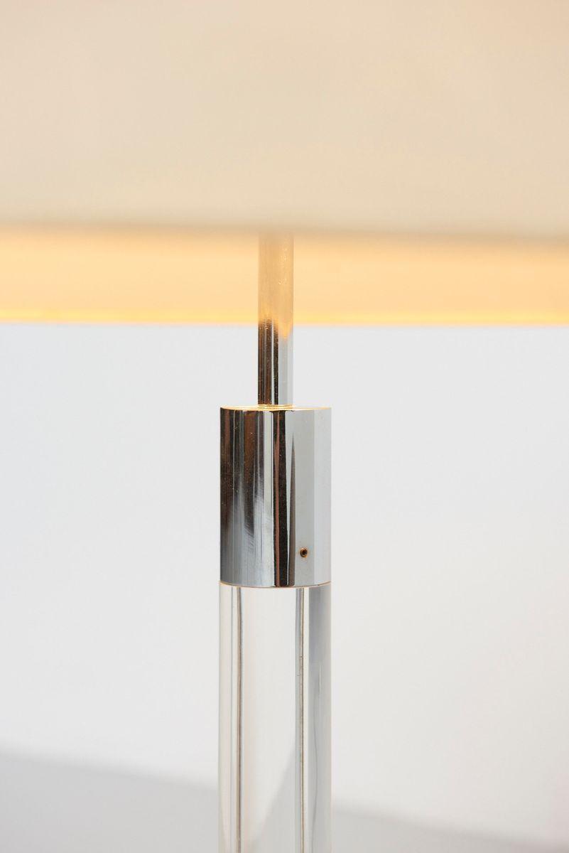 gro e vintage tischlampe mit plexiglas gestell von staff leuchten bei pamono kaufen. Black Bedroom Furniture Sets. Home Design Ideas