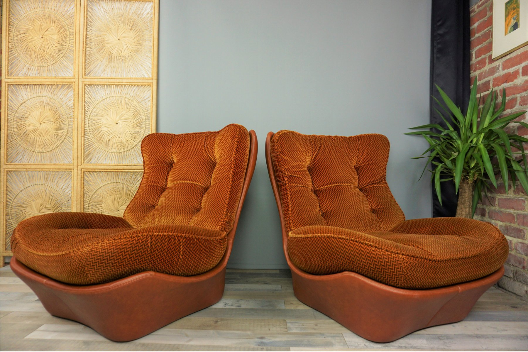 Vintage french lounge set from beka 1970s for sale at pamono for Vintage parisian lounge