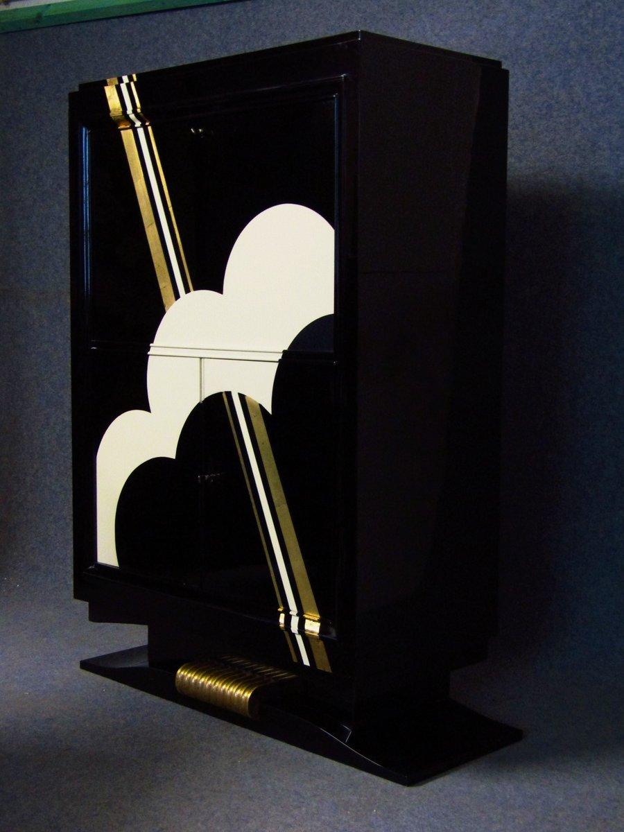 art deco secretaire 1930s for sale at pamono. Black Bedroom Furniture Sets. Home Design Ideas