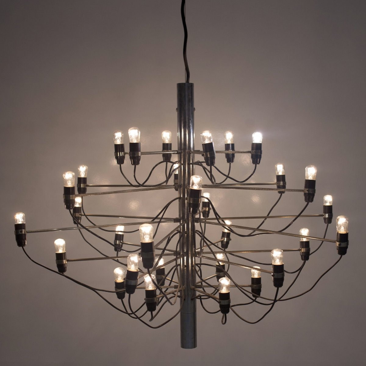 Model 209730 chandelier by gino sarfatti for arteluce 1958 for price per piece aloadofball Image collections