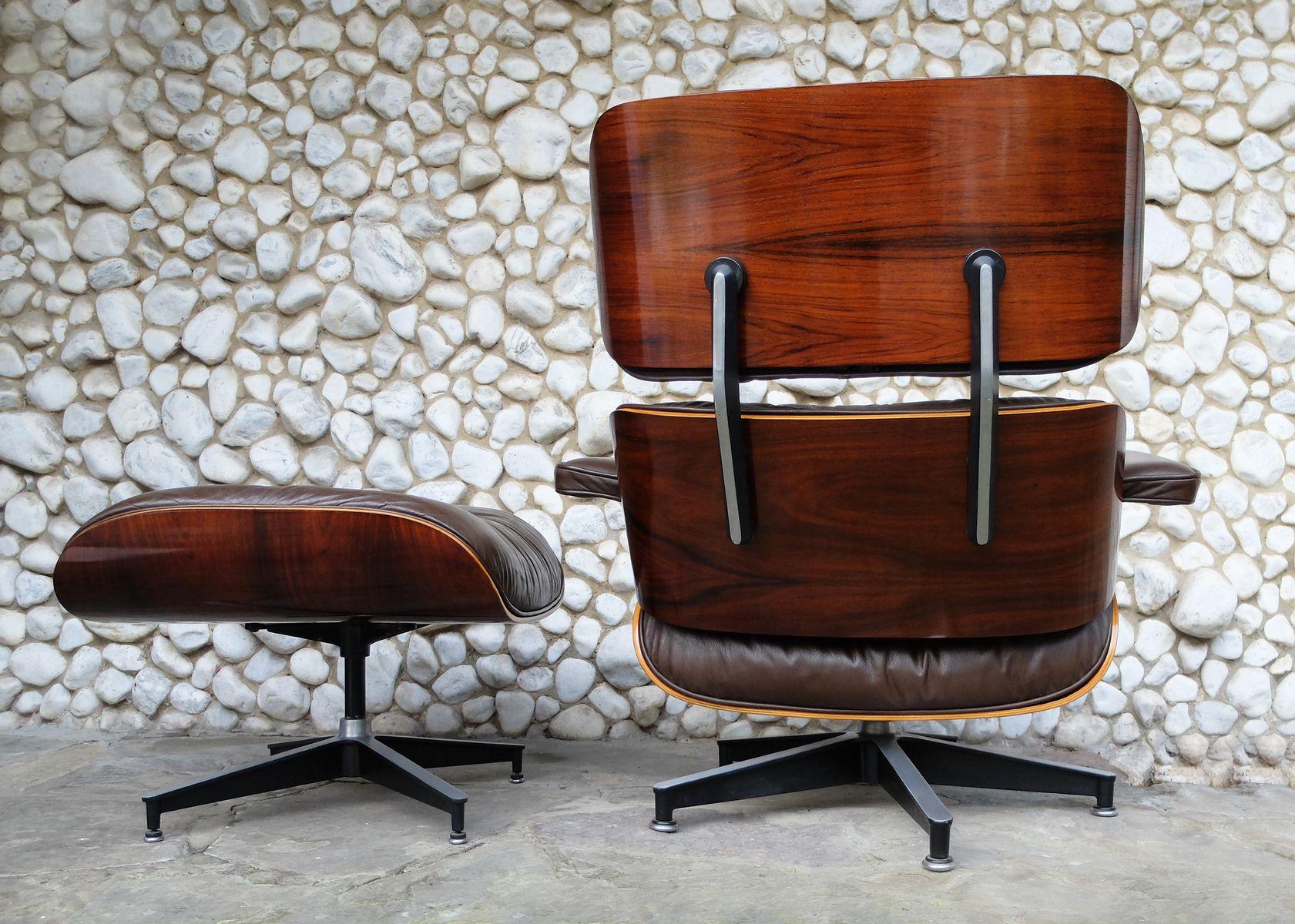 Vintage Rosewood Veneer Lounge Chair Amp Ottoman By Charles