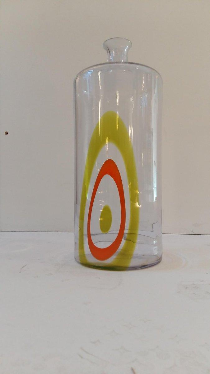 Murano Glas Saturno Flasche von Lino Tagliapietra für La Murrina ...