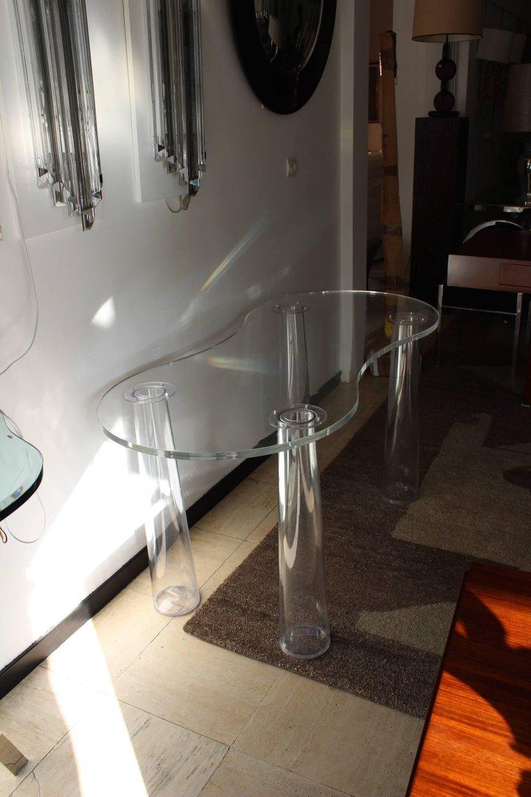 plexiglas tisch von marcel wanders 1970er bei pamono kaufen. Black Bedroom Furniture Sets. Home Design Ideas