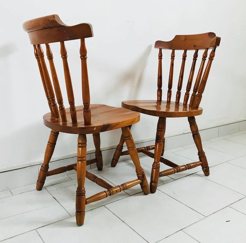 Sedie da cucina anni 39 30 set di 4 in vendita su pamono for Vendita sedie da cucina