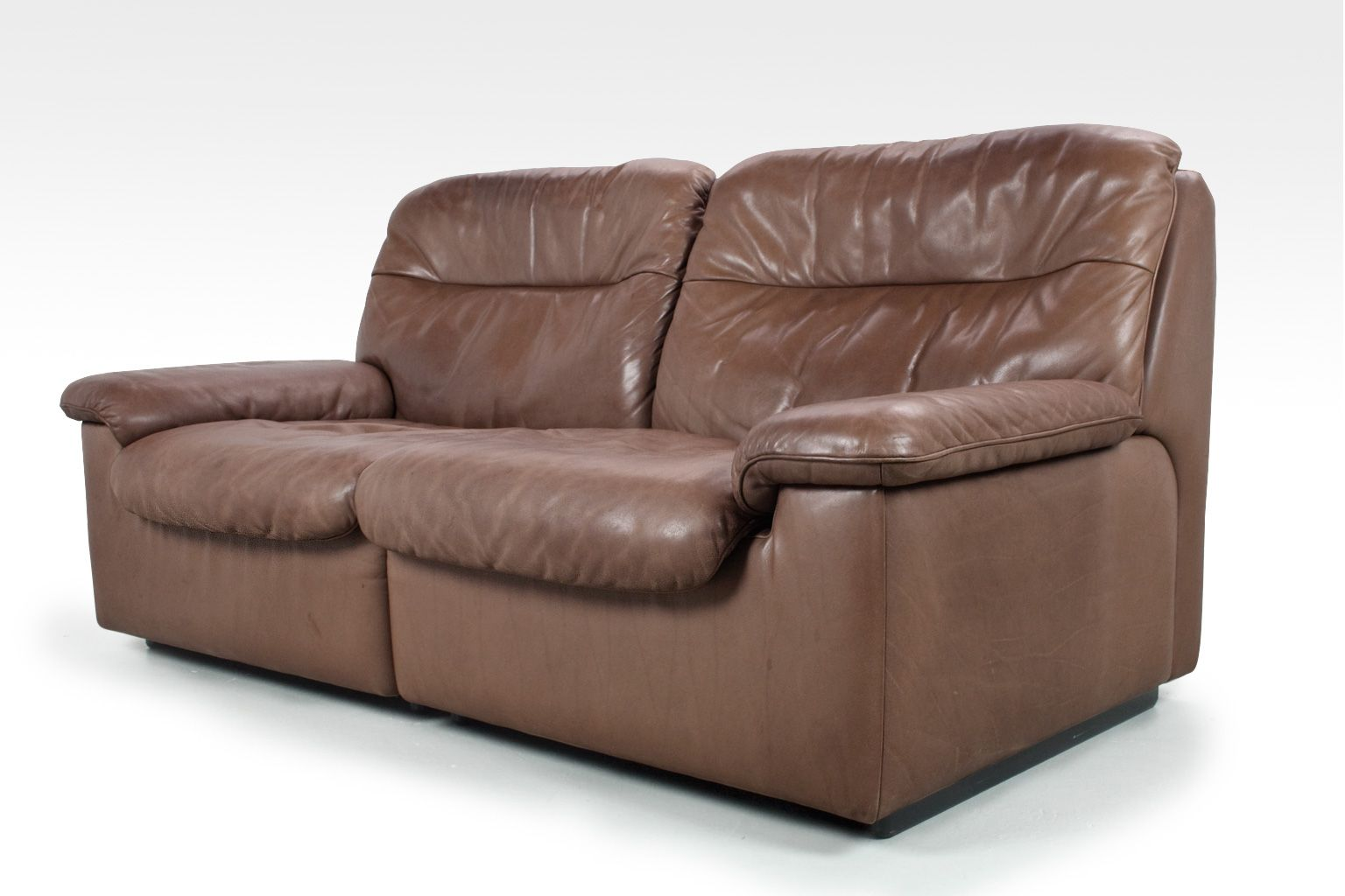 ds66 2 seater sofa from de sede 1970s for sale at pamono. Black Bedroom Furniture Sets. Home Design Ideas