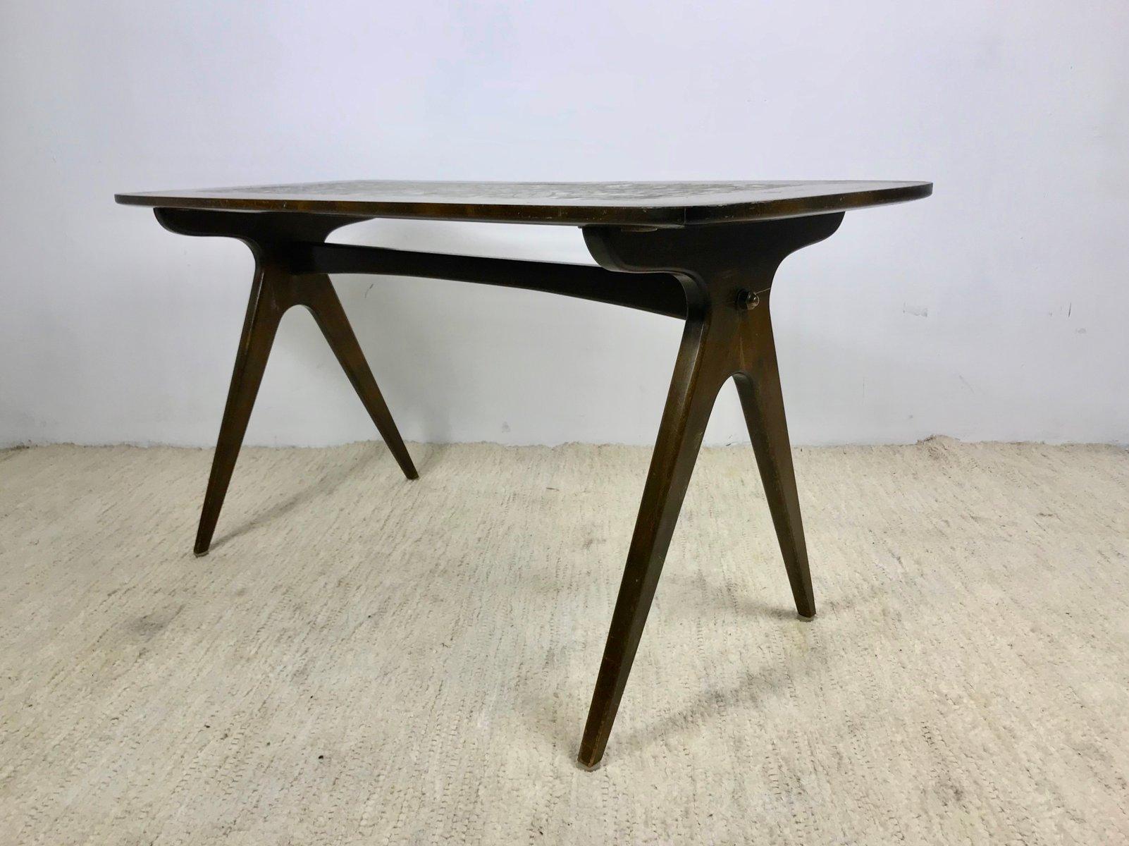 skandinavischer mosaik tisch 1960er bei pamono kaufen. Black Bedroom Furniture Sets. Home Design Ideas