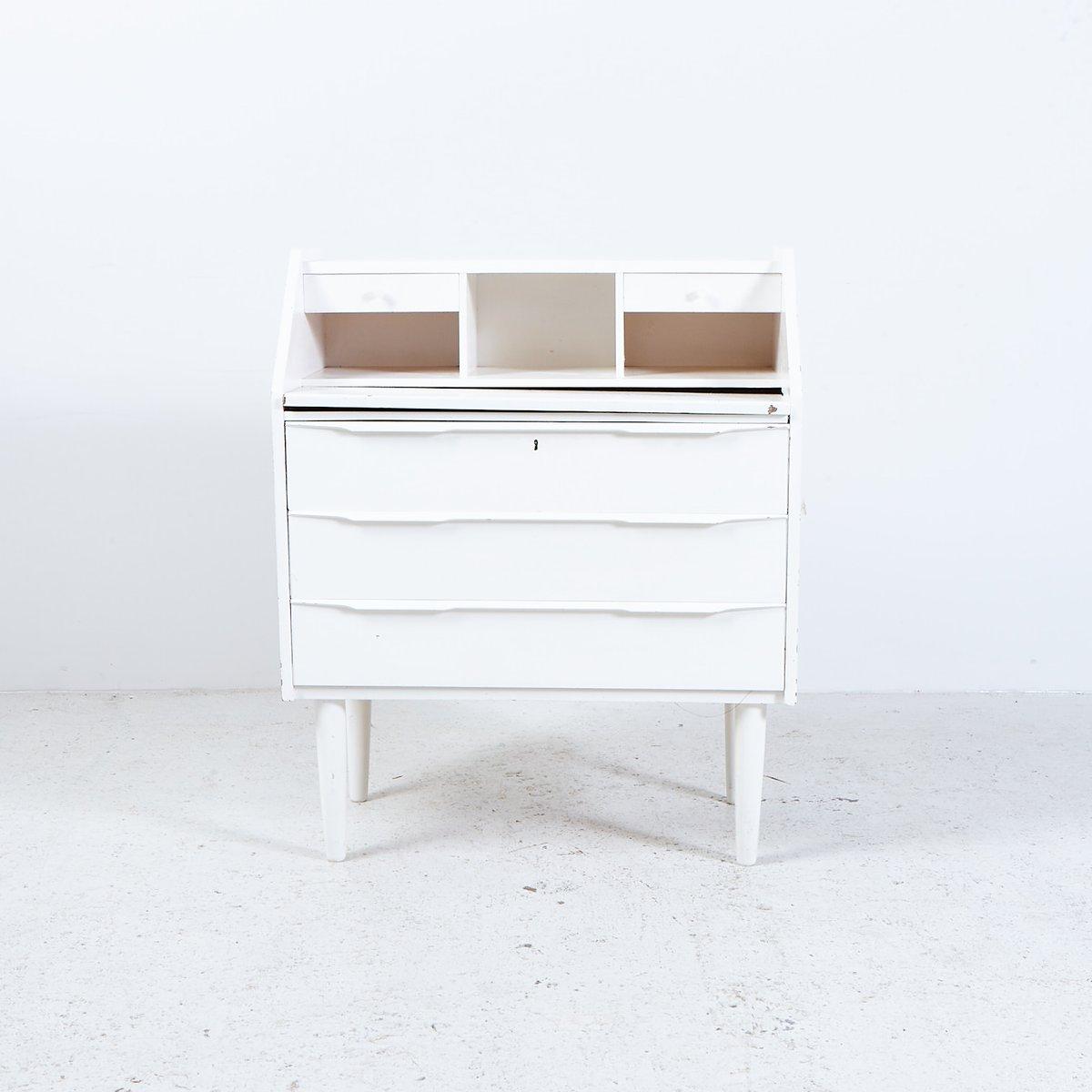 wei er d nischer sekret r schreibtisch 1960er bei pamono. Black Bedroom Furniture Sets. Home Design Ideas