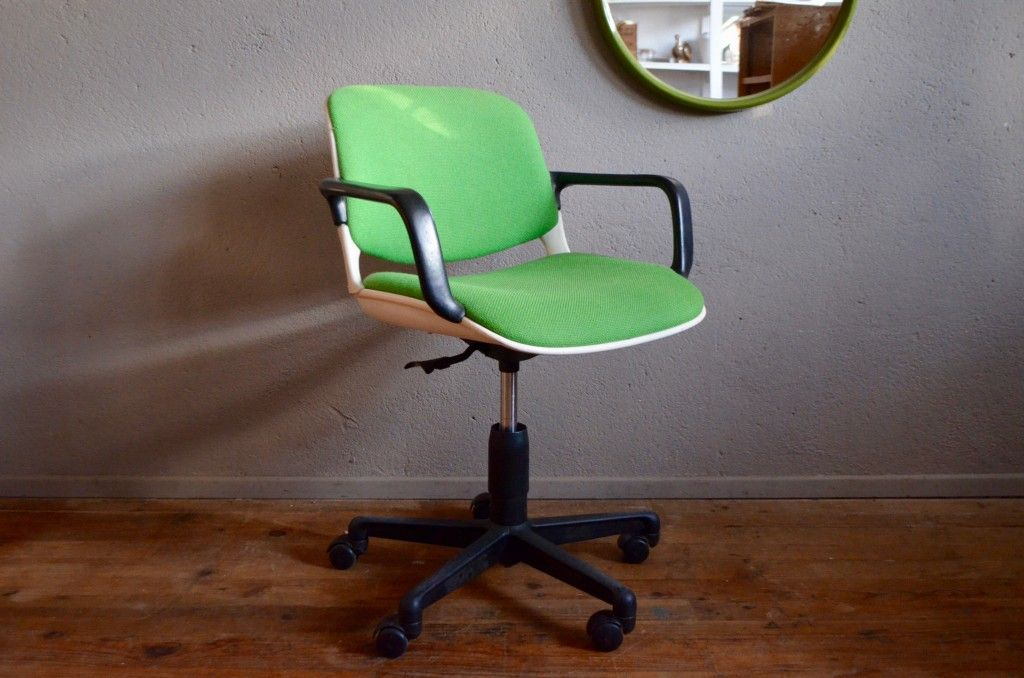 comforto office chair from mobilier international 1980s for sale at pamono. Black Bedroom Furniture Sets. Home Design Ideas