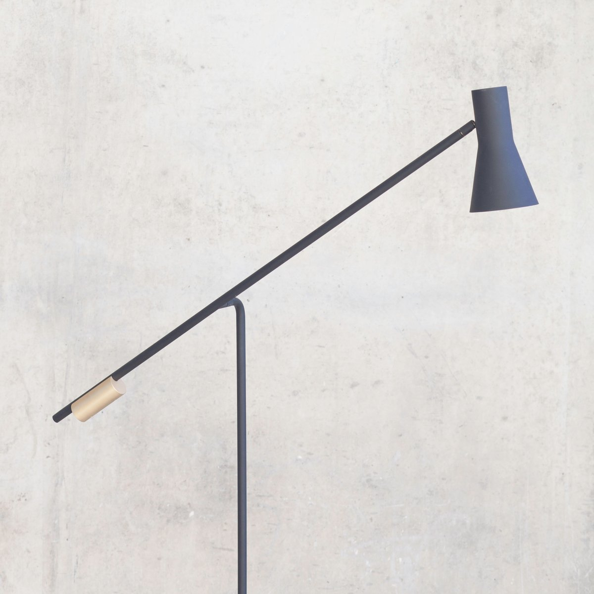 lutz floor lamp by pierre dubourg for versant edition for sale at pamono. Black Bedroom Furniture Sets. Home Design Ideas
