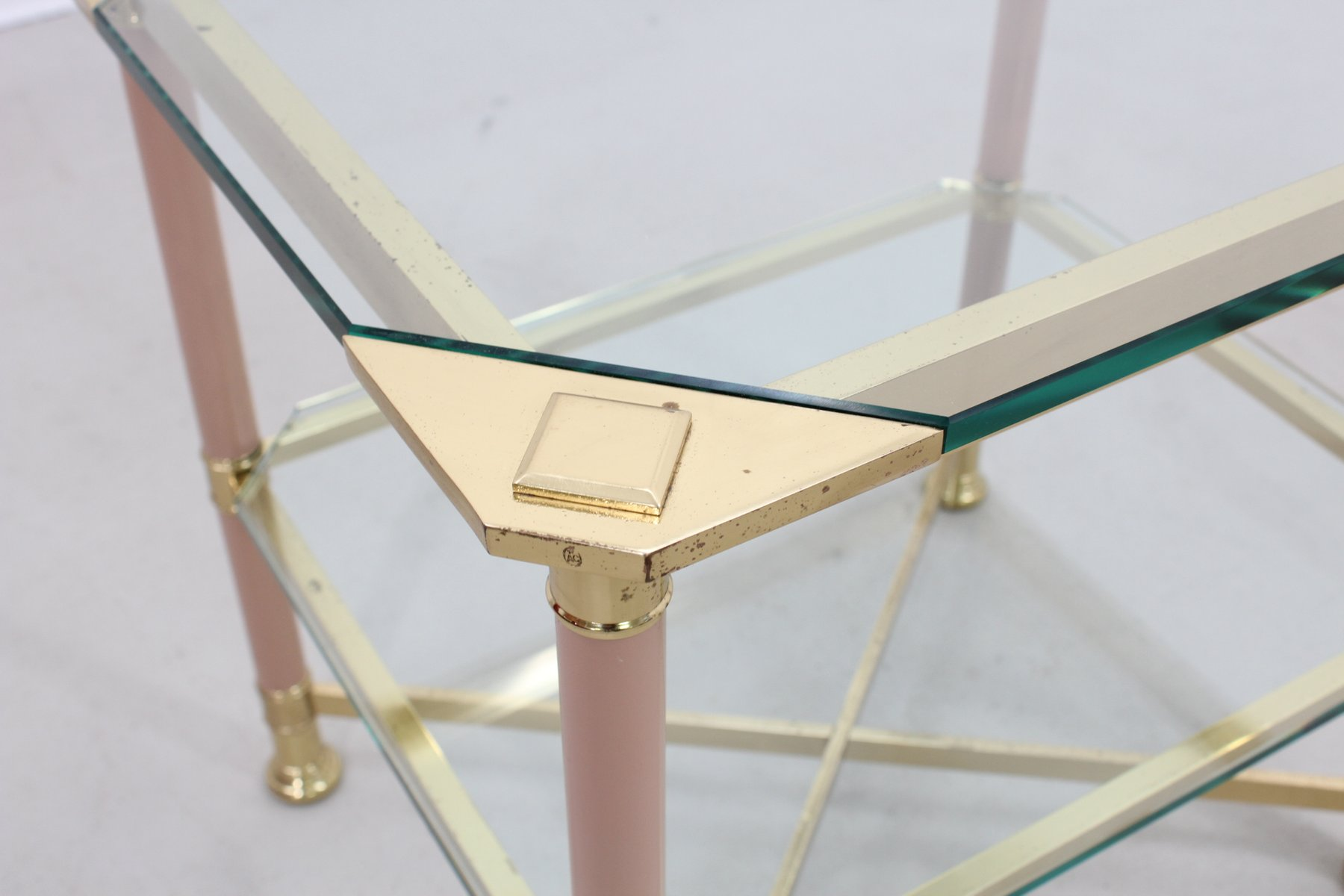 Italian Brass Coffee Table from Vivai del Sud 1960s for sale at
