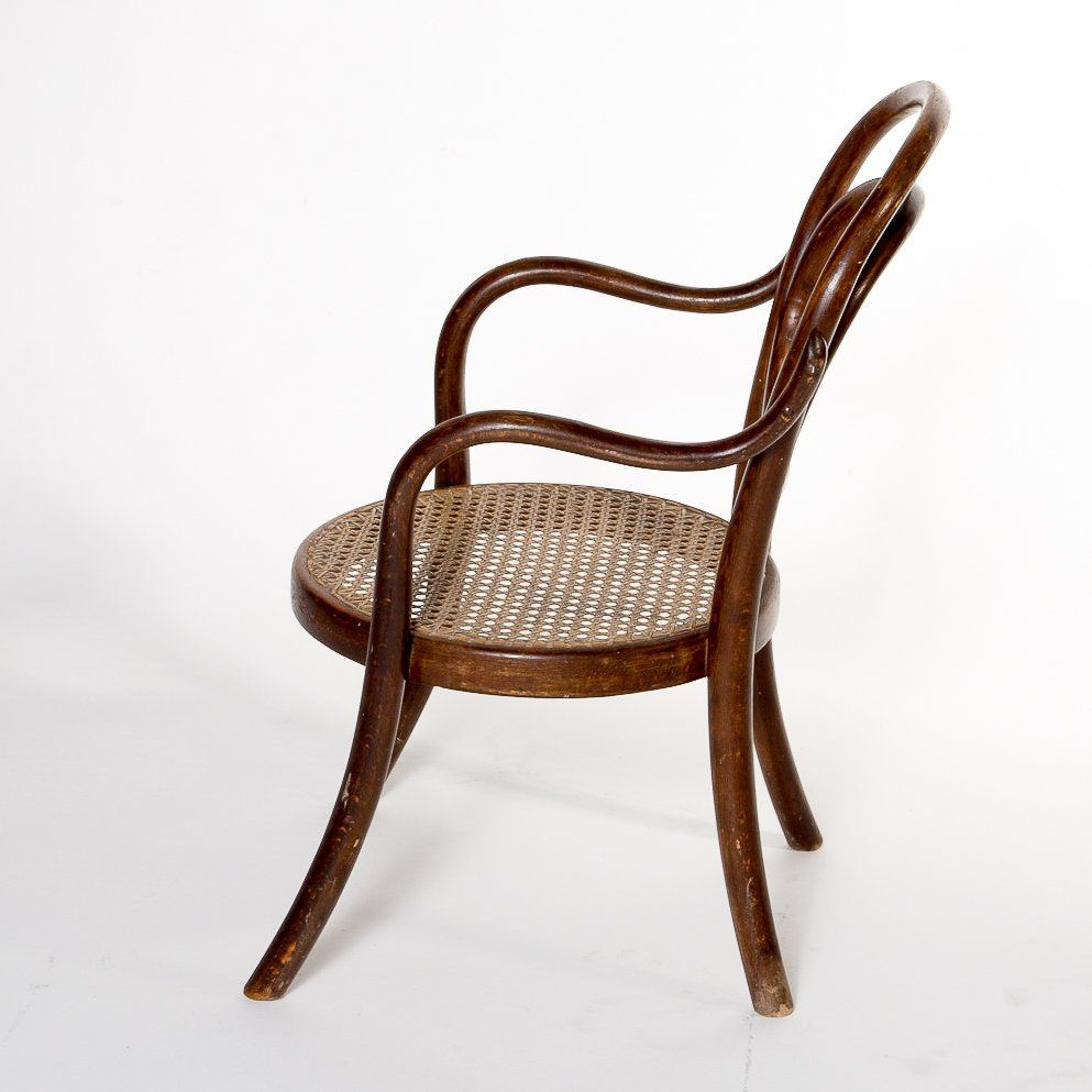 Antique Bentwood Children S Armchair No 1 From Thonet For