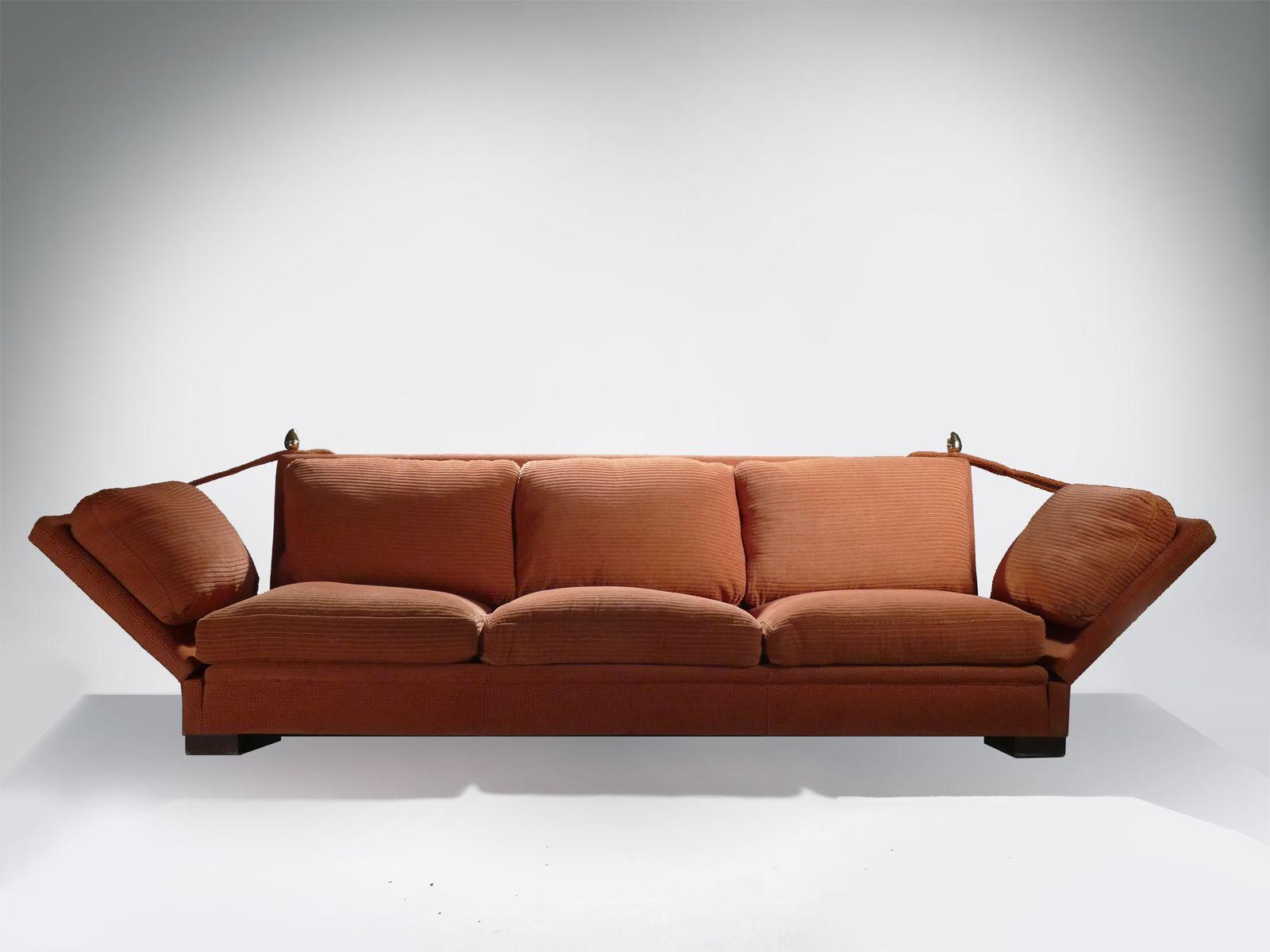 Große Sofas von Maison Jansen, 1970er, 2er Set bei Pamono kaufen