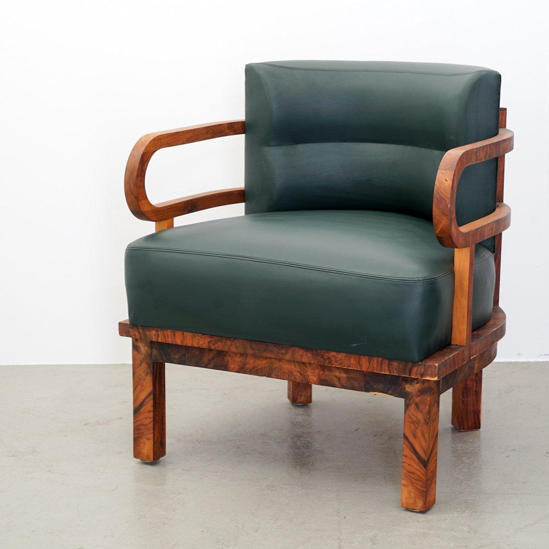 art deco sessel 1920er bei pamono kaufen. Black Bedroom Furniture Sets. Home Design Ideas