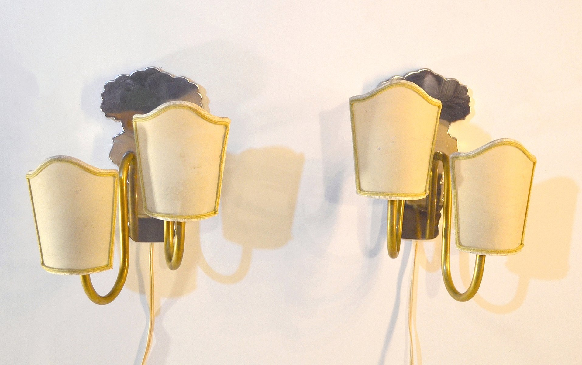 Vintage Swedish Art Deco Wall Sconces, Set Of 2 7. £601.00