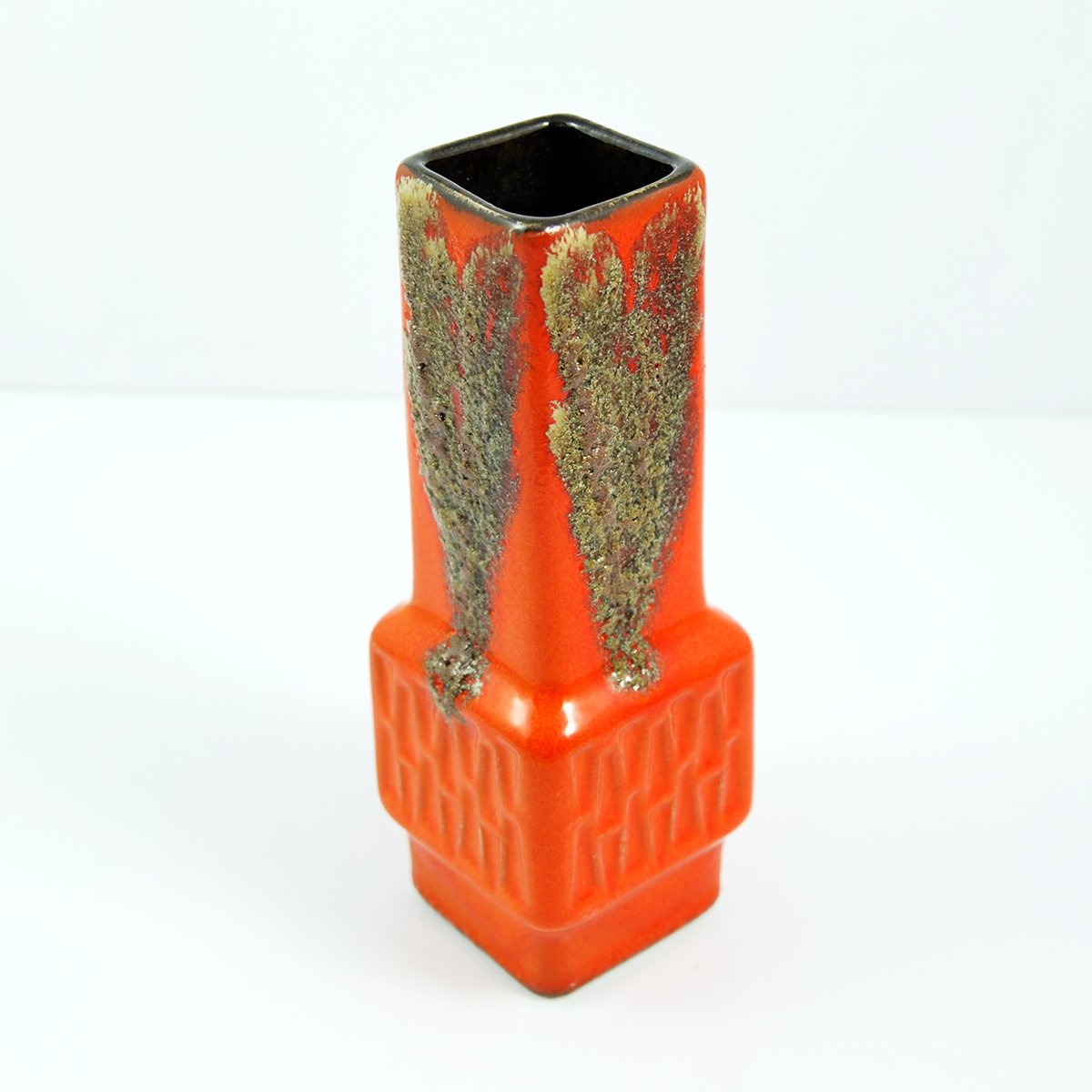 Model 420 orange ceramic vase by fohr keramik 1970s for sale at price per piece reviewsmspy